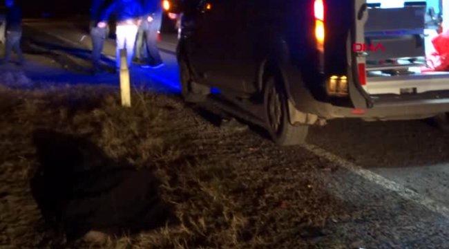 Kütahya otomobilin çarptığı yaşlı adam öldü