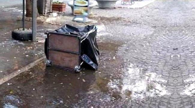 Manisa'da içi altın dolu kasayı sokak ortasında bırakıp kaçtılar