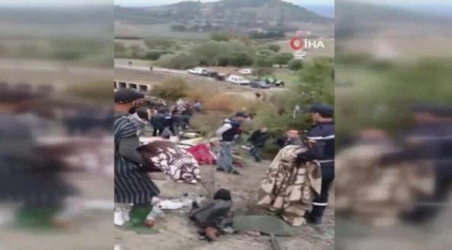 Rahatsız eden görüntüler! Fas'ta katliam gibi olay: 17 ölü, 36 yaralı