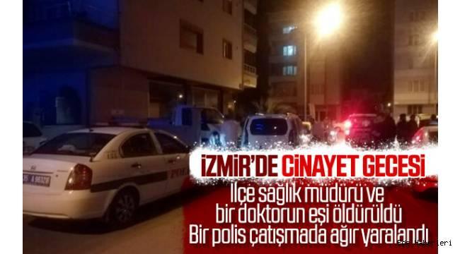 Torbalı İlçe Sağlık Müdürü Fuat Mehmet Park evinin önünde, Torbalı Devlet Hastanesi'nde görevli Dr. Harun Gülcemal'nin eşi Hatice Gülcemal ise evlerine gelen bir kişi tarafından silahla öldürüldü.