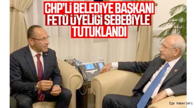 Urla Belediye Başkanı İbrahim Burak Oğuz, FETÖ'ye üye olduğu iddiasıyla tutuklandı.