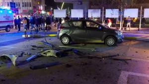 Uşak'ta trafik kazası: 5 yaralı