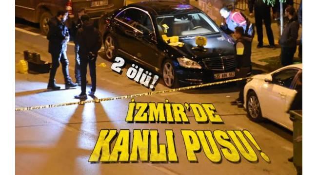 İzmir Karabağlar'da kanlı pusu silahlarını peş peşe ateşlediler