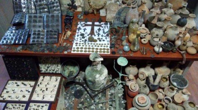 Kütahya'da 5 bin 350 tarihi eser ele geçirildi