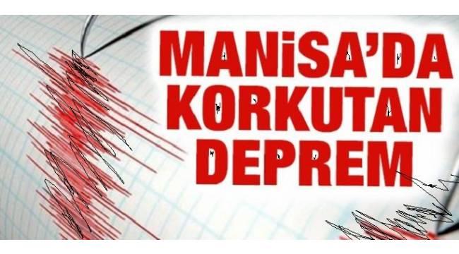 Manisa'da 5.1 büyüklüğünde deprem oldu!