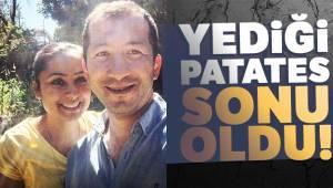 Muğla'nın Menteşe İlçesinde nefes borusuna patates kaçan kadın hayatını kaybetti