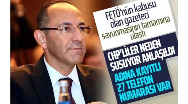 Nedim Şener hapiste unutulan Urla Belediye Başkanı'nın savunmasına ulaştı...