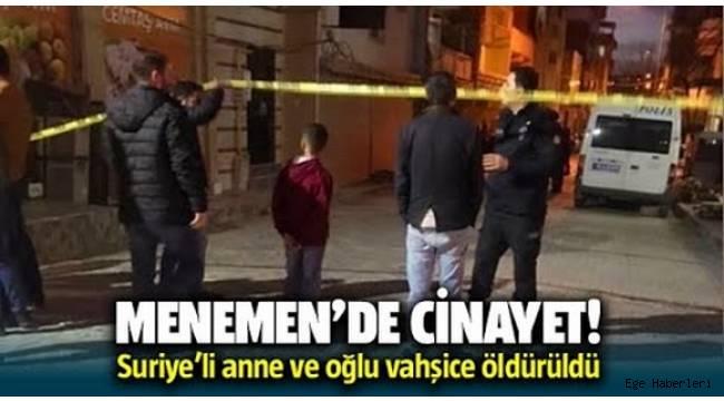 İzmir Memenen'de anne ve oğlu evlerinde ölü bulundu