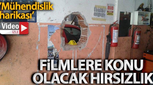 İzmir Urla'da filmlere konu olacak hırsızlık: Duvarları delip eczaneye girdiler
