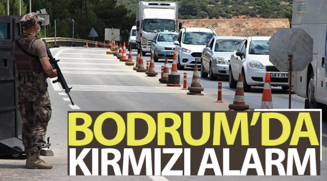 Bodrum'da kırmızı alarm