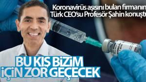 Koronavirüs aşısını bulan BionTech firmasının Türk CEO'su Profesör Şahin konuştu