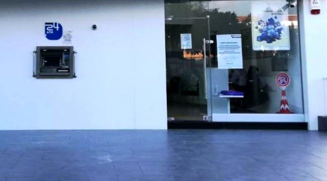 Müdür ve iki personel pozitif çıktı, banka şubesi kapatıldı
