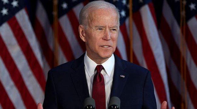 Biden, yemin töreni öncesi Washington'a geldi