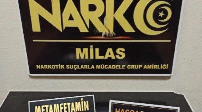 Milas'ta uyuşturucu operasyonu: 4 gözaltı
