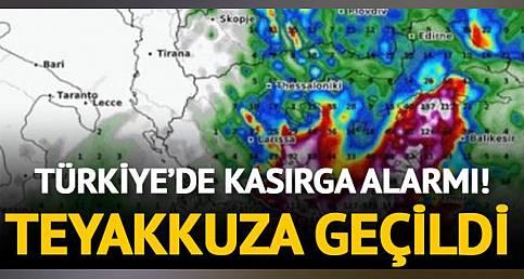 Türkiye'de Tropical Medicane Kasırgası Alarmı! İzmir Ve Muğla Teyakkuzda